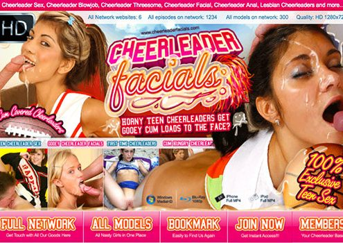 Nice porn website featuring stunning facials content