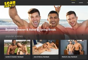 Seancody is the finest male to male porn site to enjoy some hot gay hardcore vids.