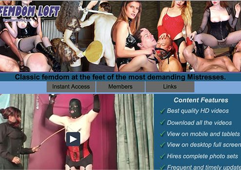 Great bdsm porn site offering the dirtiest hardcore videos