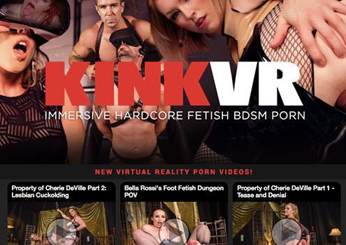 Most popular xxx site if you're up for great VR material