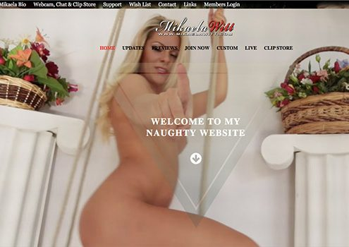 Top porn star site to enjoy the beauty of an experienced model